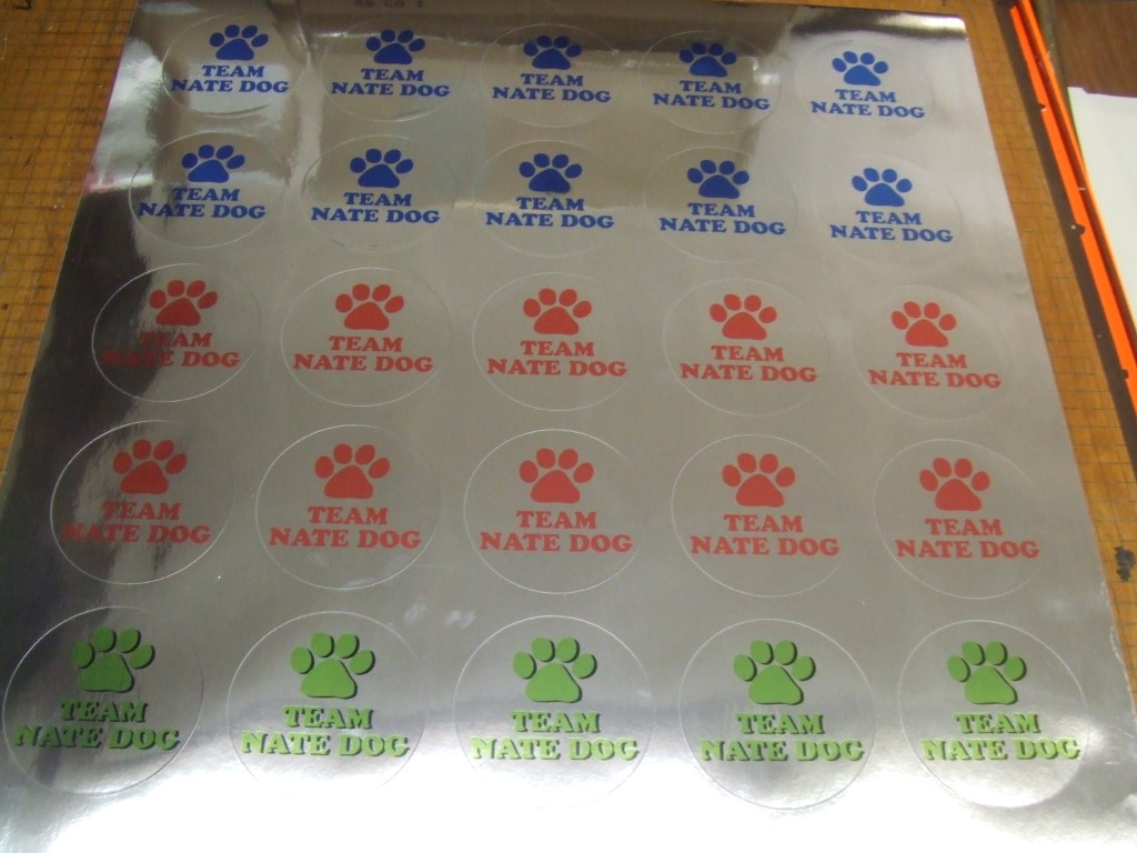 FAST DECALS PRINTED DECAL STICKER MATERIAL OPTIONS - Custom printed vinyl stickers