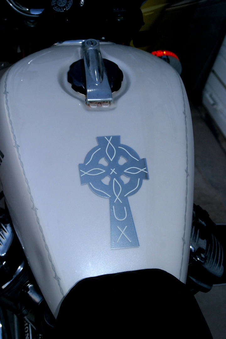 CUSTOM MOTORCYCLE DECALS And MOTORCYCLE STICKERS - Custom vinyl decals for motorcycles