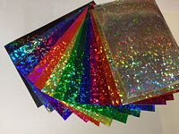 Holographic Crystal Decal Vinyl
