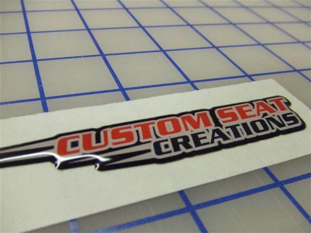 Custom 3D Stickers