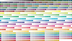 Extended Print Color Chart