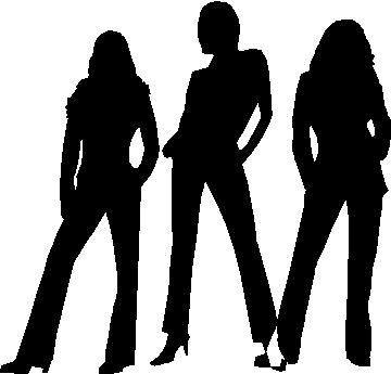 Corporate Logo Decals Charlie S Angels Decal Sticker 03