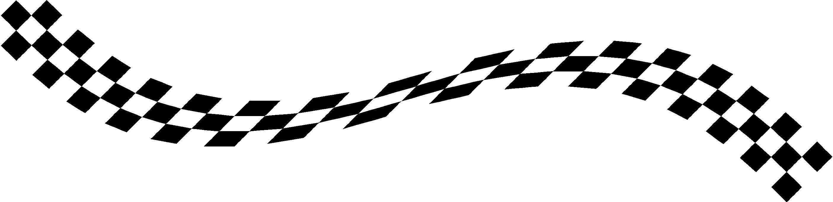Checkered Flag Decal / Sticker 32