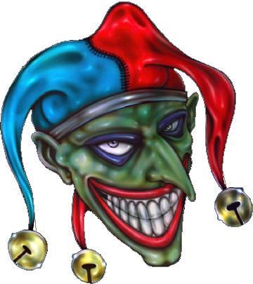 Clown Decals Joker Decal Sticker 02