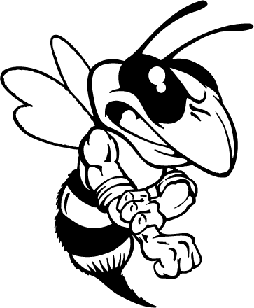 Mascot Decals Yellow Jacket Mascot Decals Hornet Yellow Jacket Coloring Page