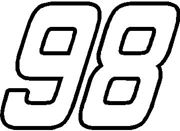 2014 08 01 archive further Racing Circuits together with Topic in addition 98 Race Number Outline Hemi Head Font Decal Sticker moreover Race Car Coloring Pages. on actual nascar cars