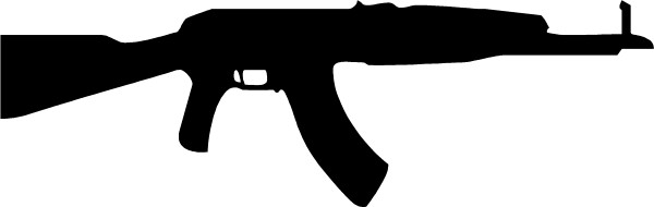 Sticker you print code - Gun Decals Ak 47 Decal Sticker