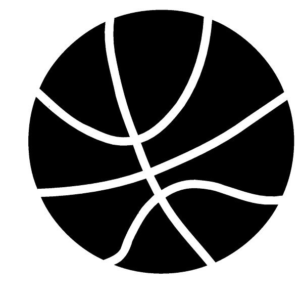 Basketball Decal Sticker En 2 on Number Lines To Print