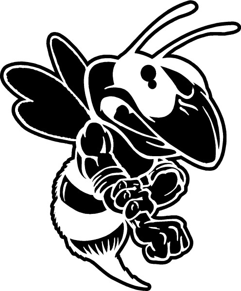 Yellow Jacket Coloring Page Yellow Jacket Coloring Page