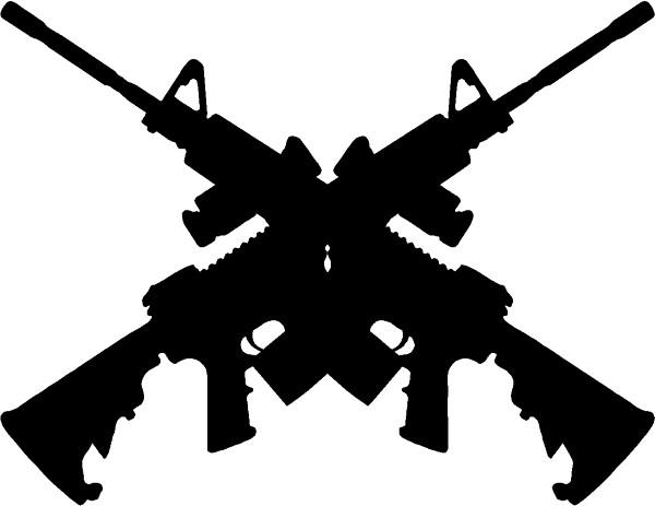 Guerrilla Warfare Stock Images, Royalty-Free Images ...  Crossed Guns M4