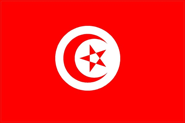 Permalink to Tunisia Flag Coloring Page
