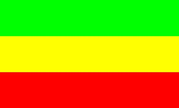 Rasta Flag Colouring Pages