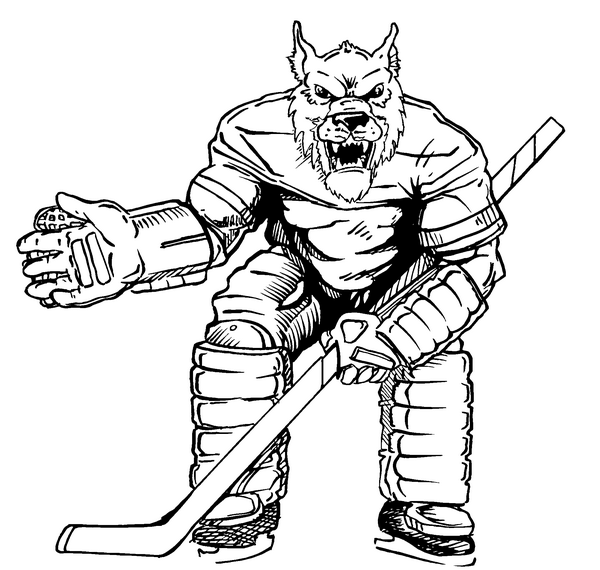 Hockey mascot coloring pages ~ Nhl Mascots Pages Coloring Pages