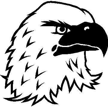 Eagle Head Decal  Sticker 04  Eagle Head Stencil