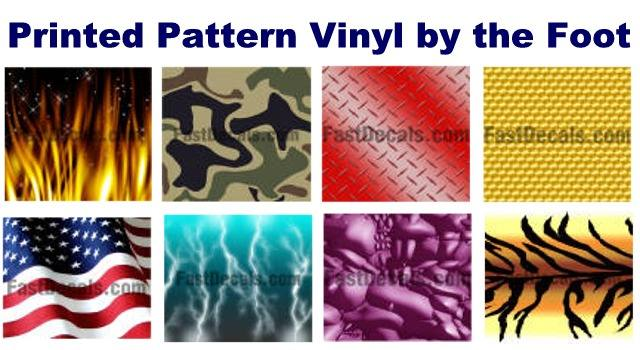 Miscellaneous Products Printed Pattern Vinyl By The