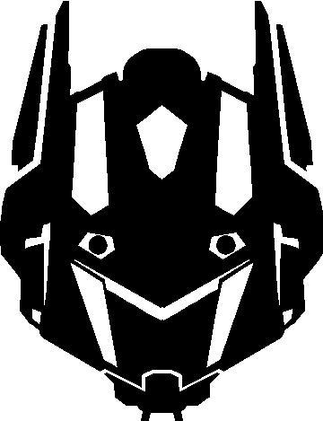 Bumblebee Transformer Face Decals