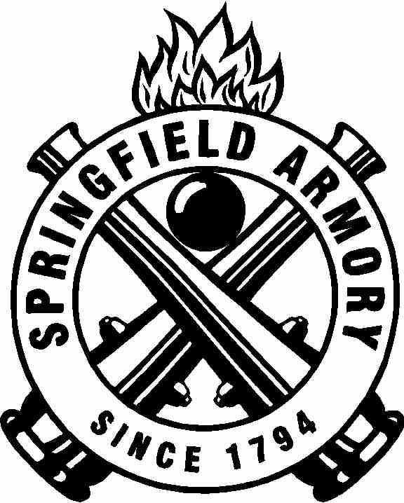 Corporate Logo Decals Springfield Armory Crest Decal