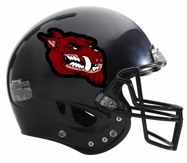 Football helmets decals