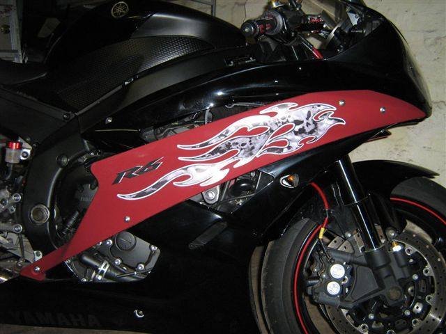 CUSTOM MOTORCYCLE DECALS and MOTORCYCLE STICKERS